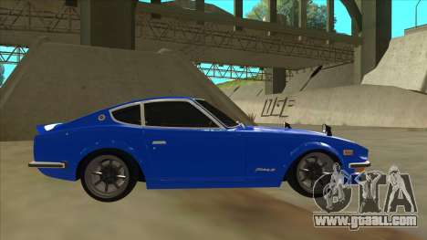 Nissan Wangan Midnight Devil Z S30 for GTA San Andreas back left view