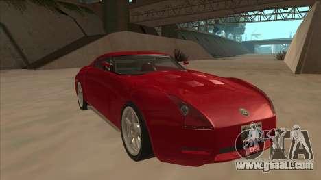 Melling Hellcat Custom for GTA San Andreas left view