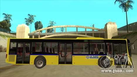 Bus Line 88 Novi Zeleznik for GTA San Andreas back left view