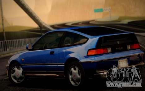 Honda CR-X 1991 for GTA San Andreas left view