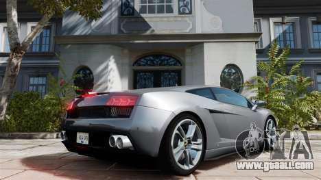 Lamborghini Gallardo LP560-4 [Final] v1 for GTA 4 back left view