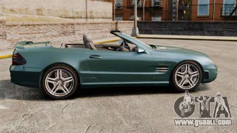 Mercedes-Benz SL65 2007 AMG v1.2 for GTA 4 left view