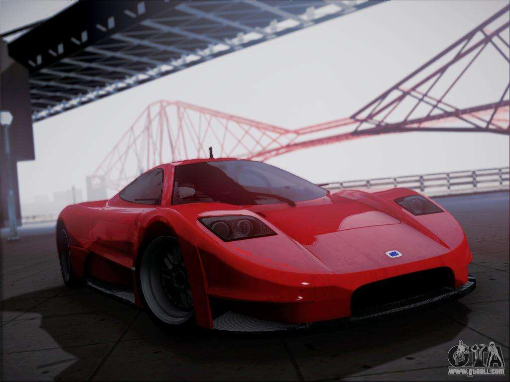 Joss Supercar For Gta San Andreas