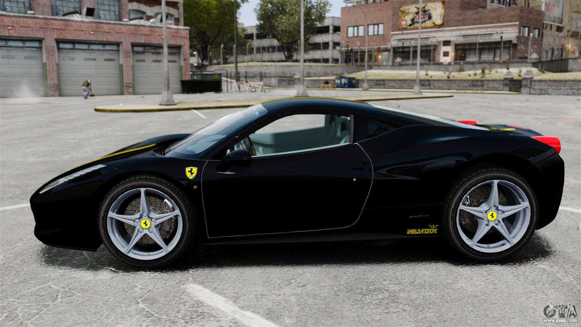 ferrari 458 italia 2010 wheelsandmore 2013 for gta 4 - Wheelsandmore Ferrari 458 Italia