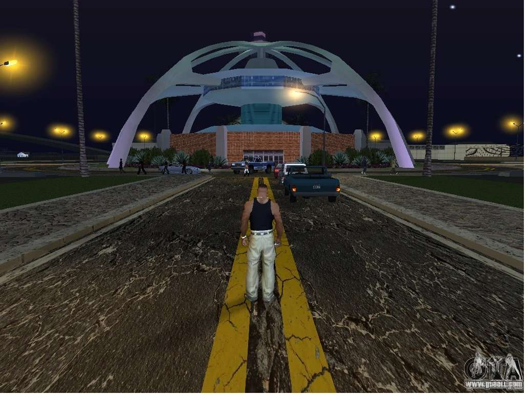 The New Airport Los Santos For Gta San Andreas