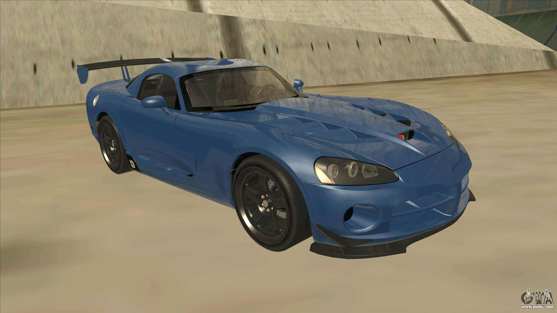 Dodge Viper Srt 10 Acr Tt Black Revel For Gta San Andreas