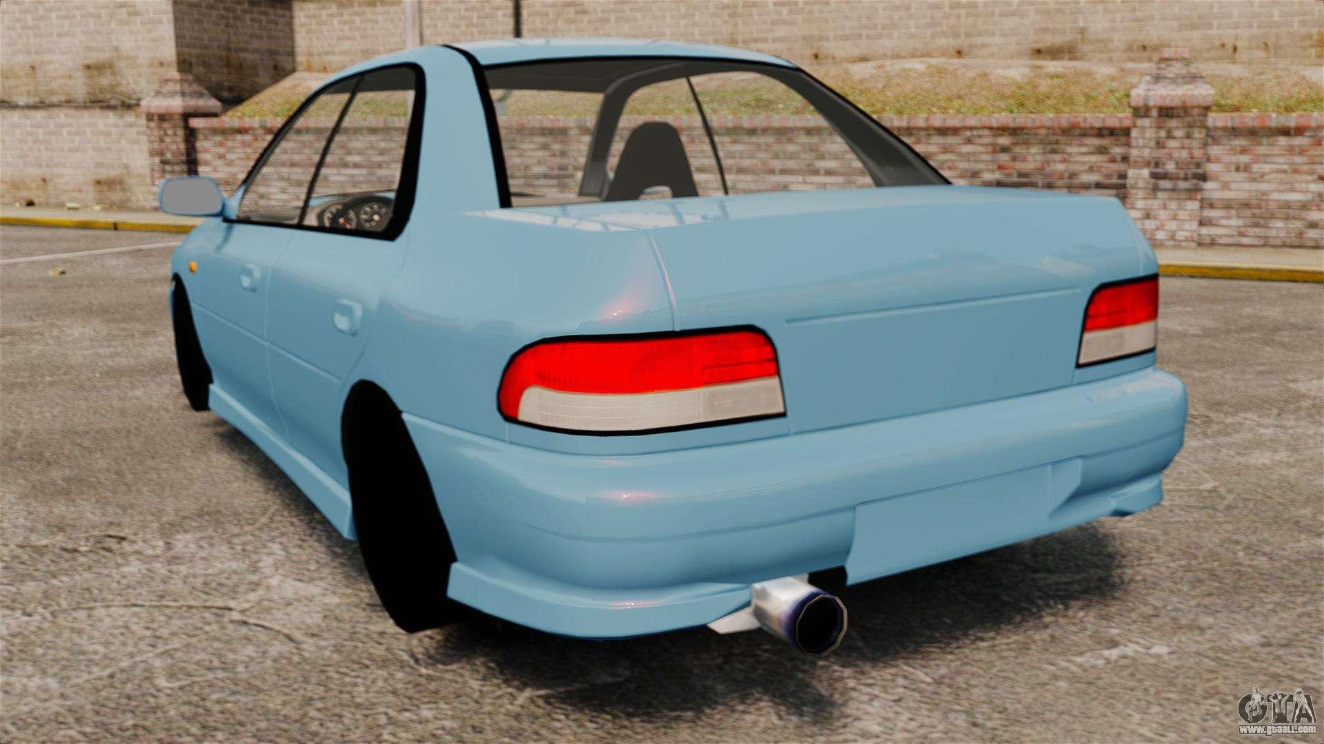 Wrx Sti 0 60 >> Subaru Impreza WRX STI 5 Domestic Drifter 1999 for GTA 4