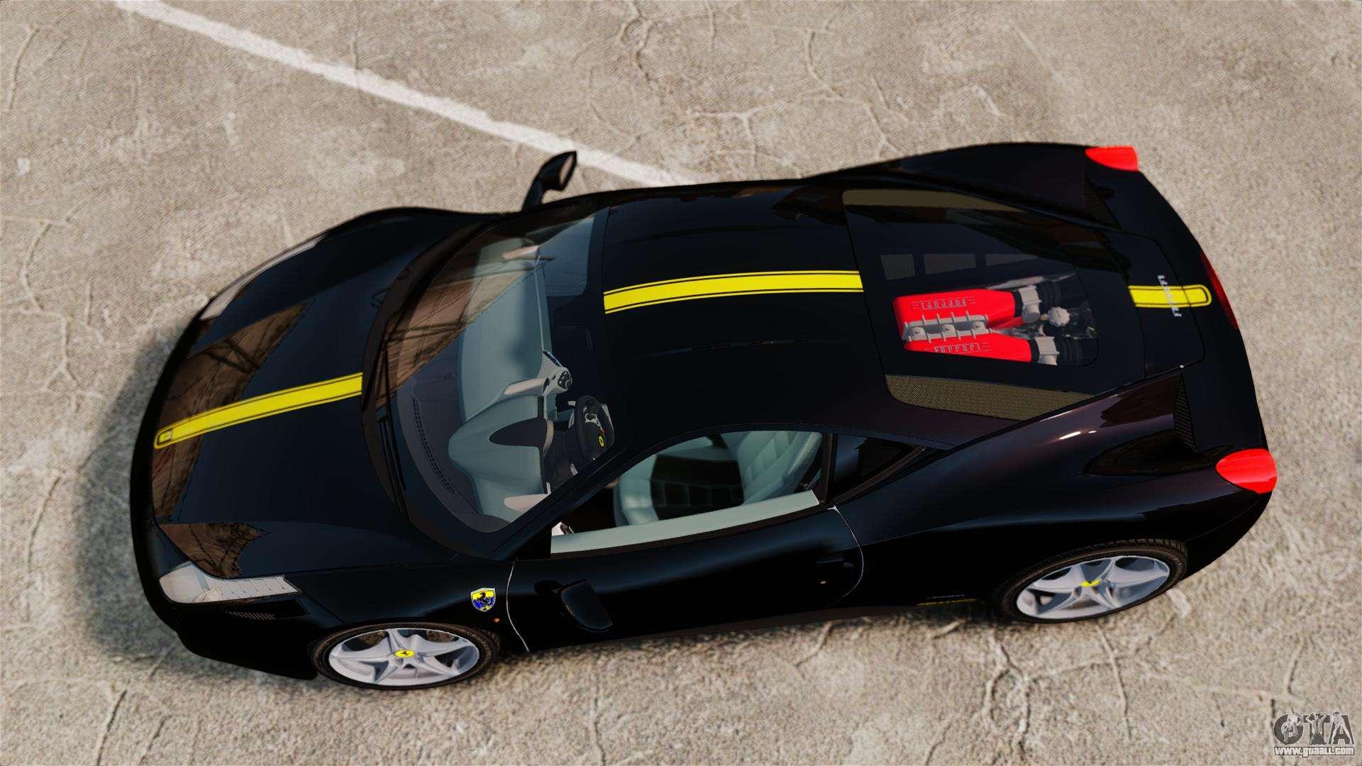 ferrari 458 italia 2010 wheelsandmore 2013 for gta 4 inner view - Wheelsandmore Ferrari 458 Italia