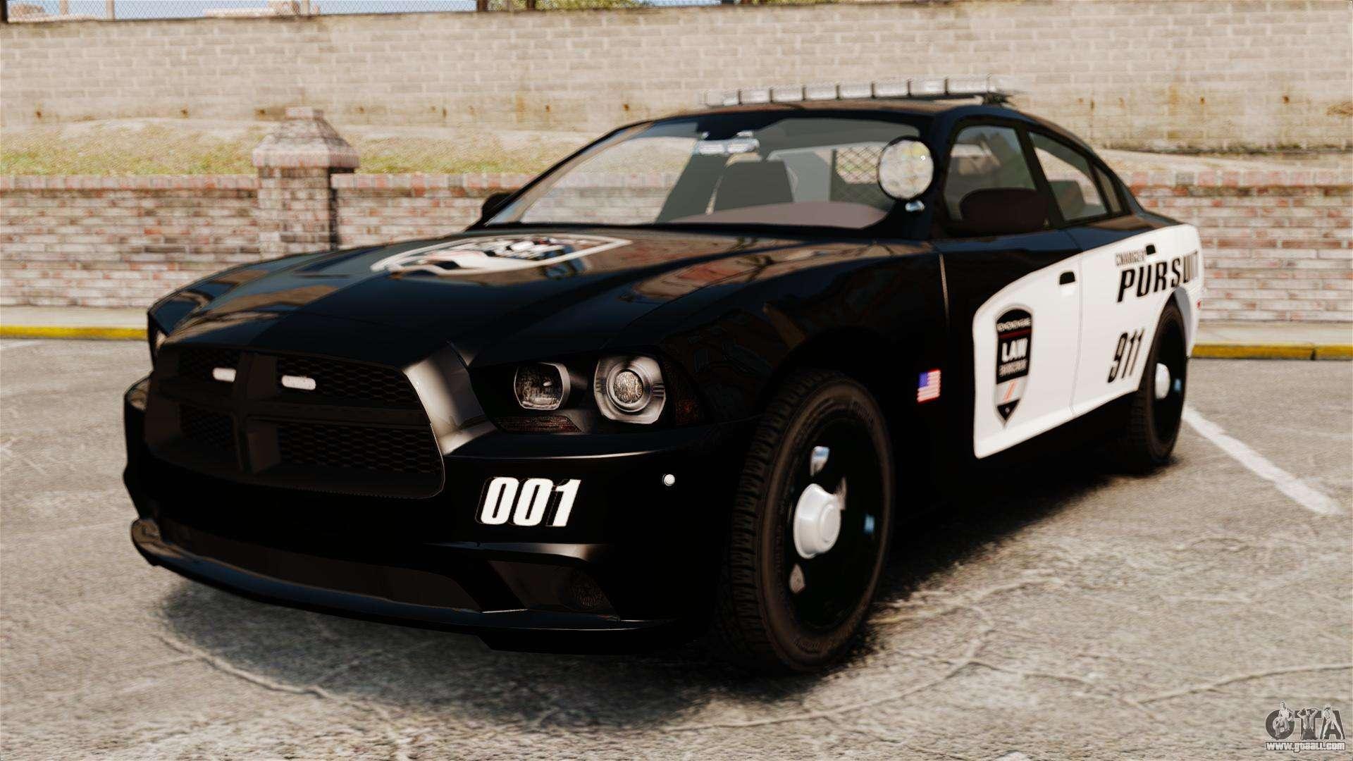 Dodge Charger Pursuit >> Dodge Charger Pursuit 2012 [ELS] for GTA 4
