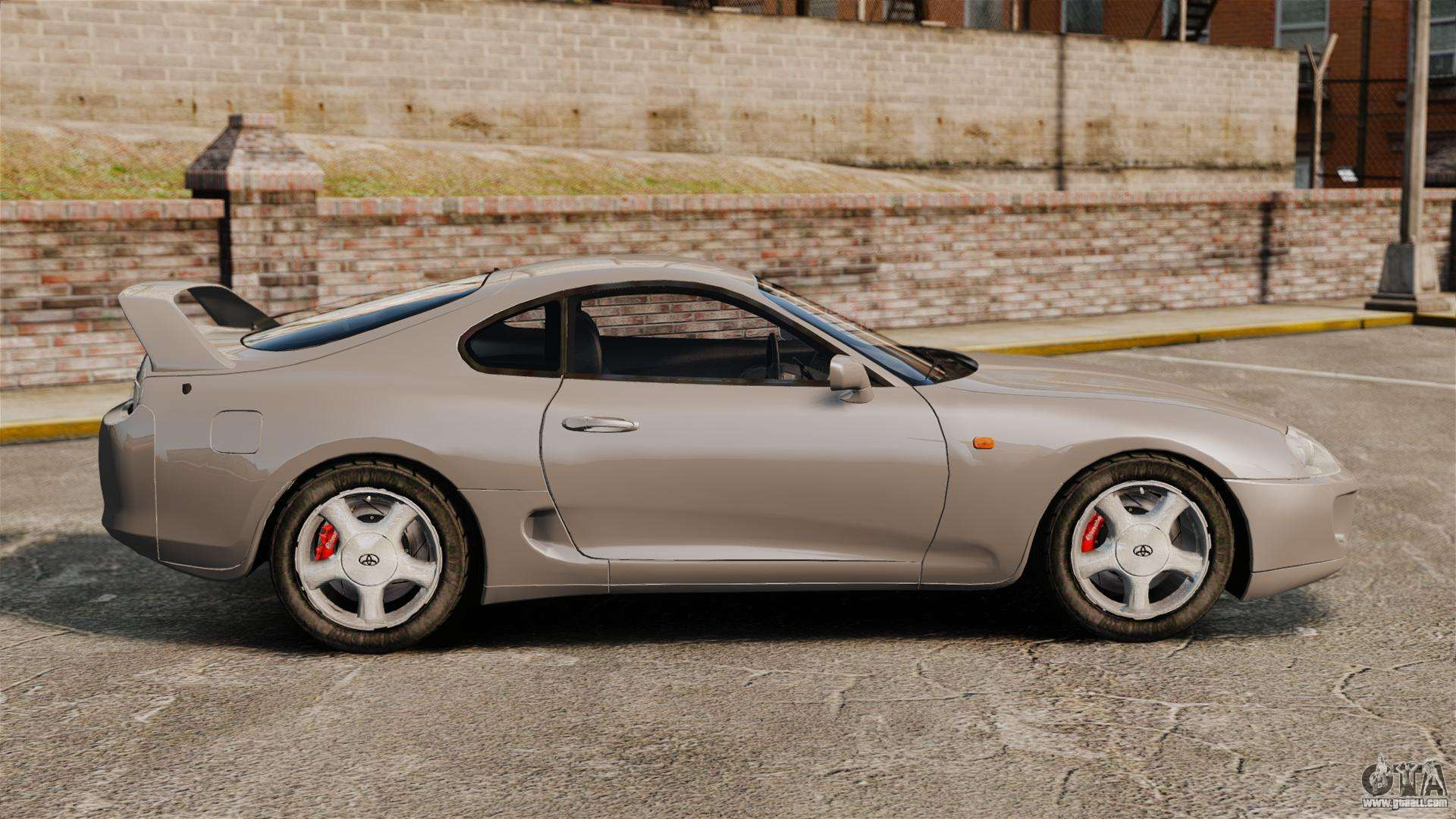 Toyota Supra Mkiv 1995 V3 5 For Gta 4