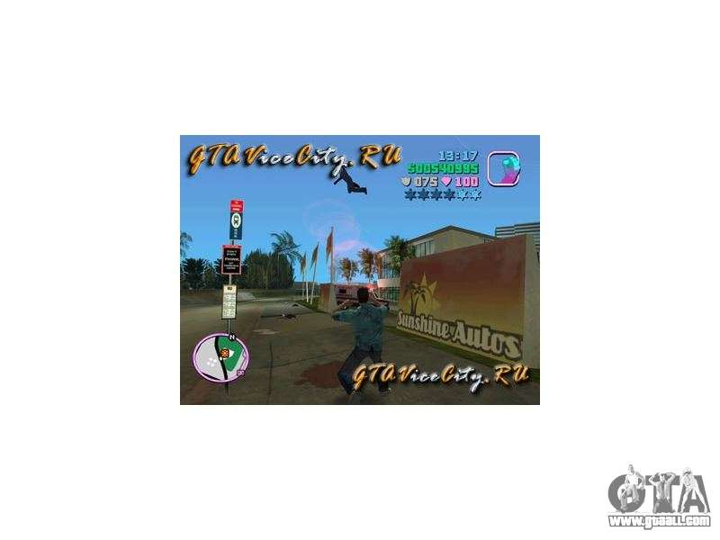 Super powers mod GTA Vice City for GTA Vice City
