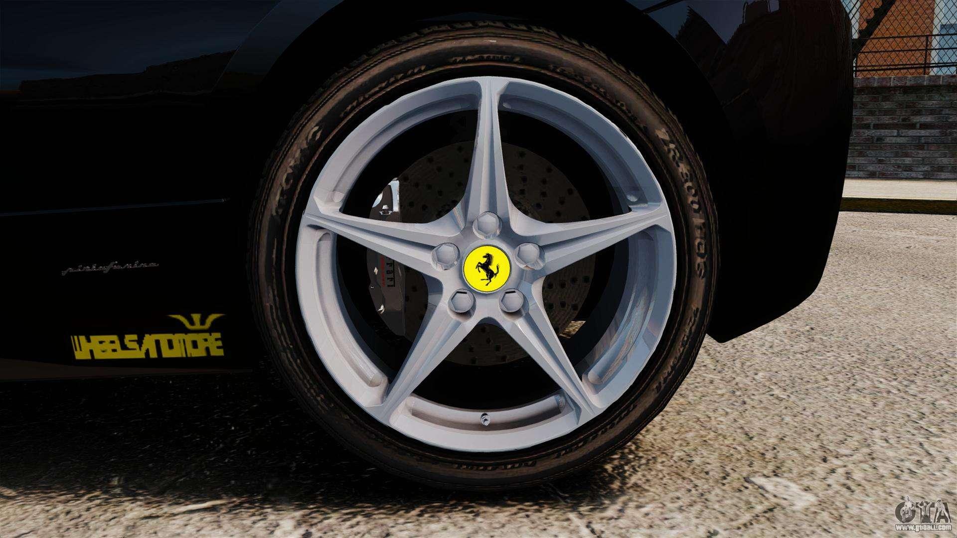 ferrari 458 italia 2010 wheelsandmore 2013 for gta 4 side view - Wheelsandmore Ferrari 458 Italia