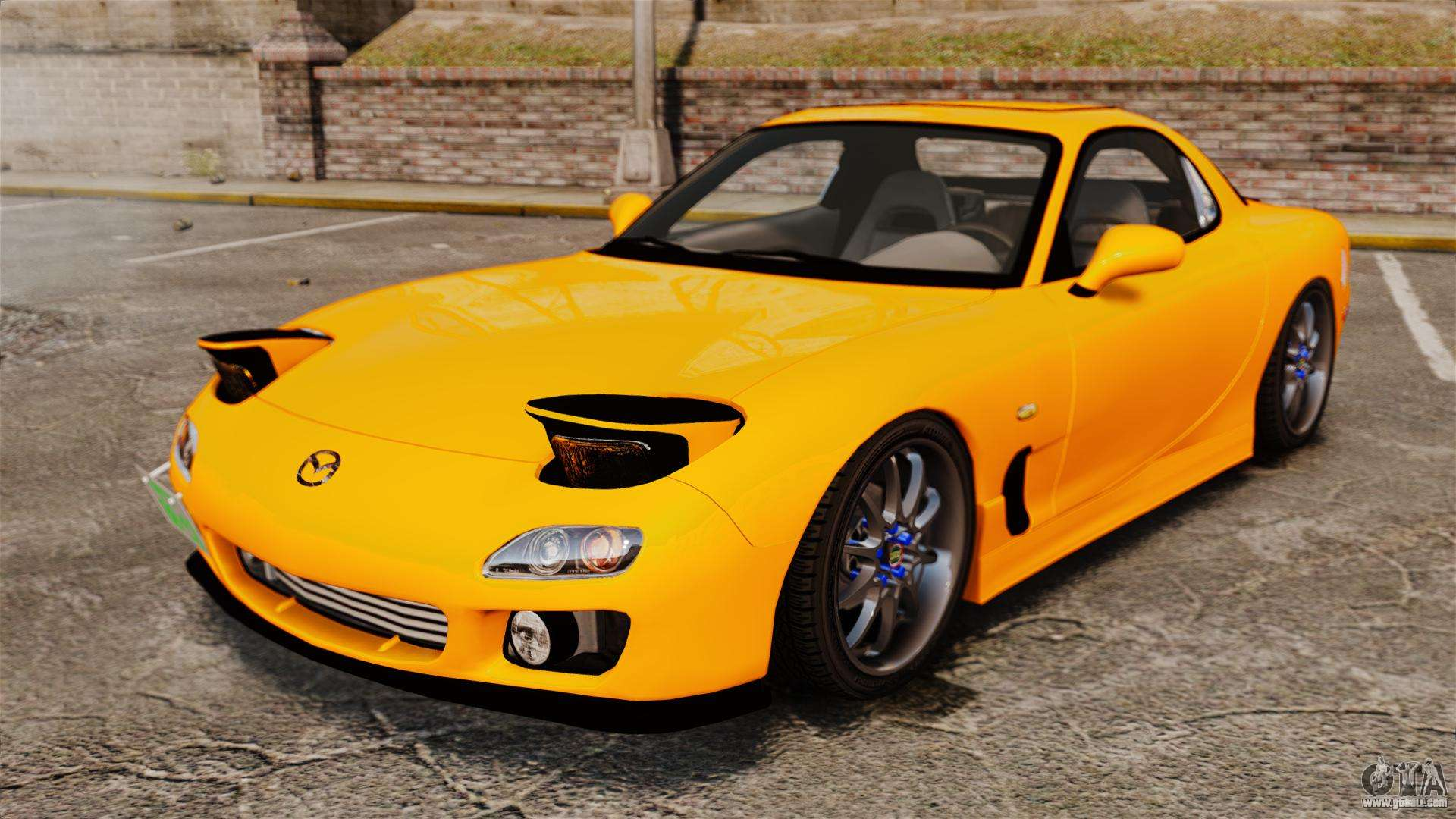 Mazda 3 Mods >> Mazda RX-7 FD3S for GTA 4