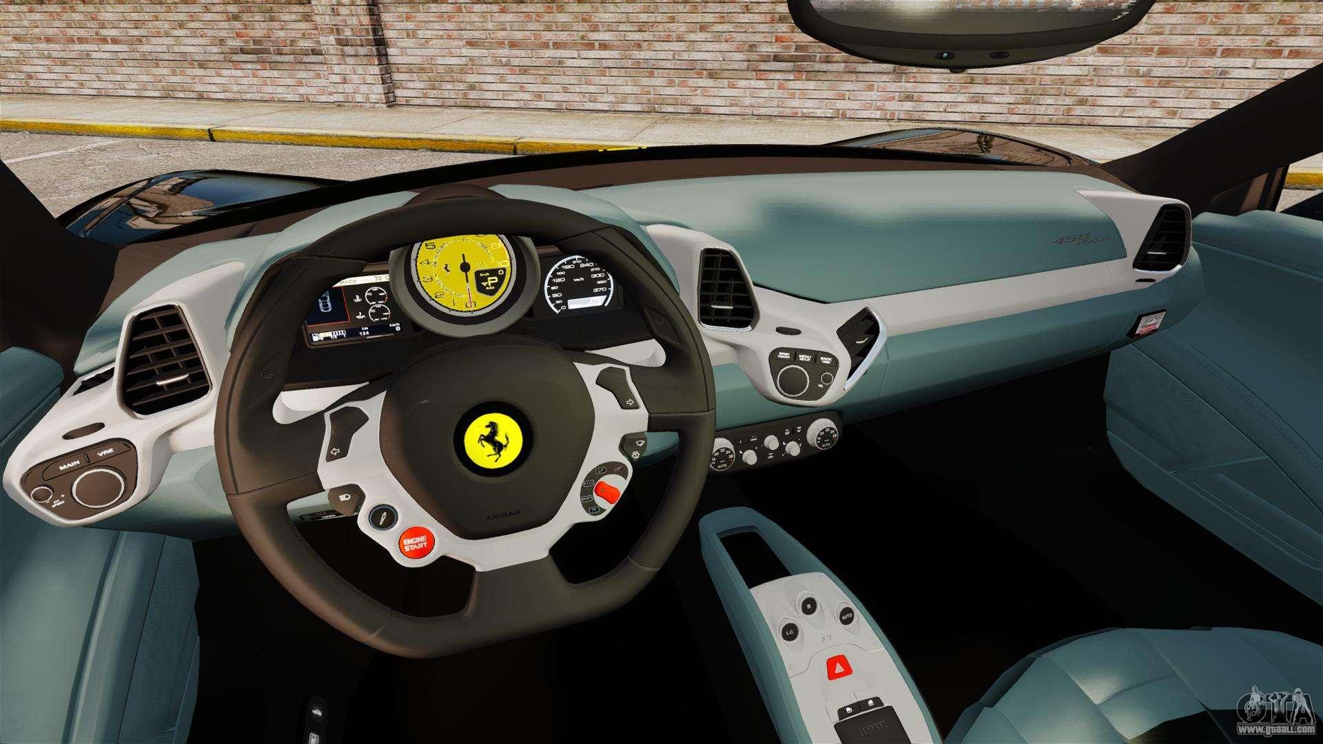 ferrari 458 italia 2010 wheelsandmore 2013 for gta 4 back left view - Wheelsandmore Ferrari 458 Italia