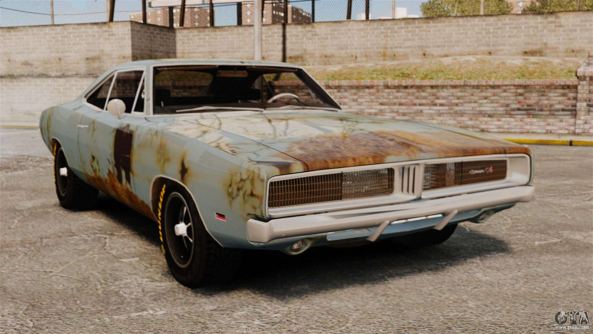 Craigslist Dc Cars >> Dodge Charger RT 1969 rusty v1.1 for GTA 4