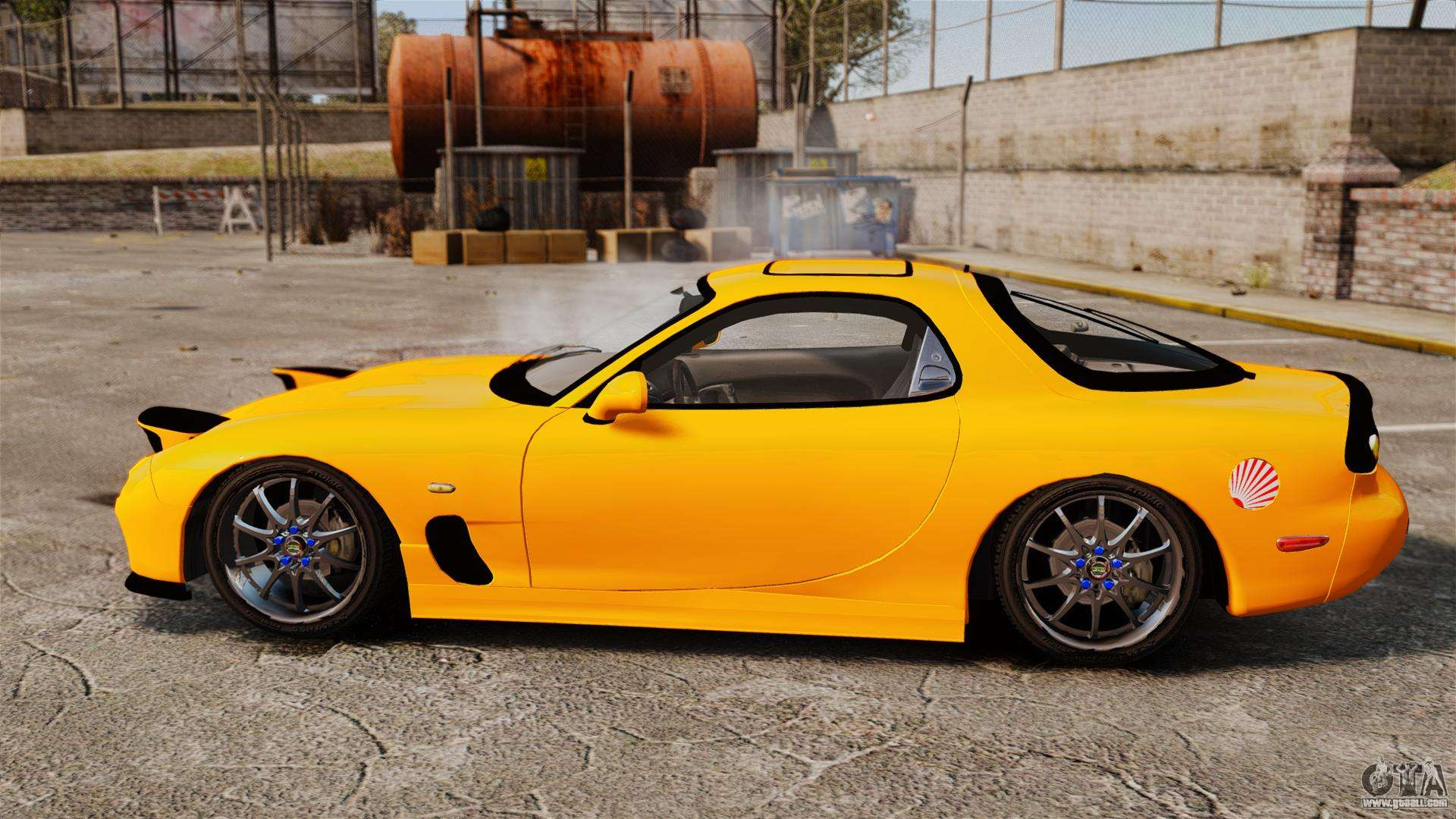 Mazda 3 Police Car >> Mazda RX-7 FD3S for GTA 4