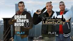 Updated menus and loading screens for GTA 4