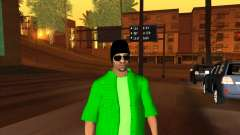 New skin Groove st. for GTA San Andreas