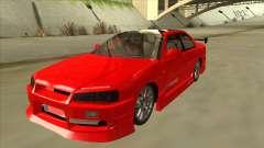 Nissan Skyline ER34 JDMGarage for GTA San Andreas