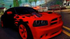 Dodge Charger SRT-8 Tuning for GTA San Andreas