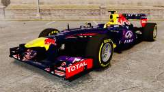 Car, Red Bull RB9 v5 for GTA 4