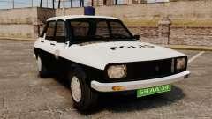 Renault 12 Classic 1980 Turkish Police