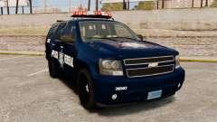 Chevrolet Tahoe 2007 De La Policia Federal [ELS]