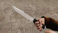 Knife The Alabama Slammer, chrome plated