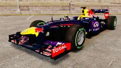 Car, Red Bull RB9 v3 for GTA 4