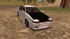 Toyota Corrola GTS JDM for GTA San Andreas