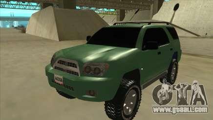 Toyota 4Runner 2009 v2 for GTA San Andreas