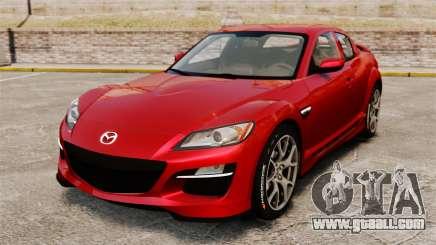 Mazda RX-8 R3 2011 for GTA 4