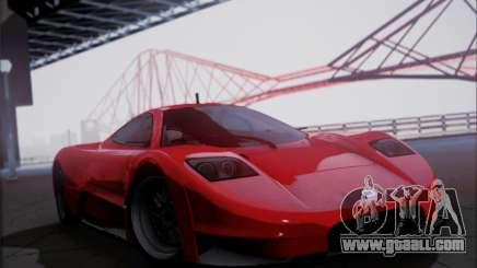 Joss JP1 2010 Supercar V1.0 for GTA San Andreas