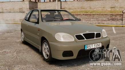 Daewoo Lanos Sport PL 2000 for GTA 4