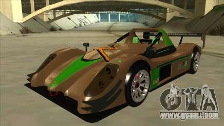 Radical SR8 RX for GTA San Andreas