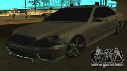 Mercedes-Benz S65 AMG W220 for GTA San Andreas