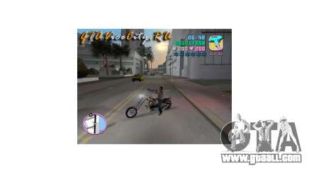 Harley Chopper for GTA Vice City