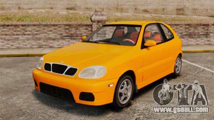 Daewoo Lanos Sport US 2001 for GTA 4