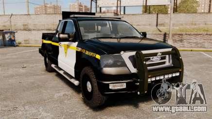 Ford F-150 v3.3 State Trooper [ELS & EPM] v1 for GTA 4