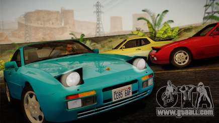 Porsche 944 Turbo Coupe 1985 for GTA San Andreas