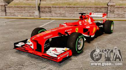 Ferrari F138 2013 v3 for GTA 4