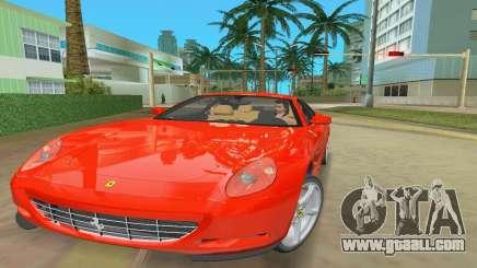 Ferrari 612 Scaglietti 2005 for GTA Vice City