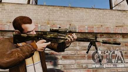 HK G3SG1 sniper rifle v2 for GTA 4