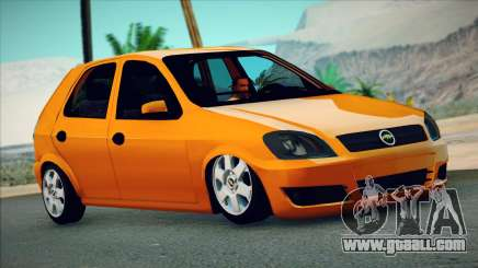 Chevrolet Celta hatchback 3 doors for GTA San Andreas