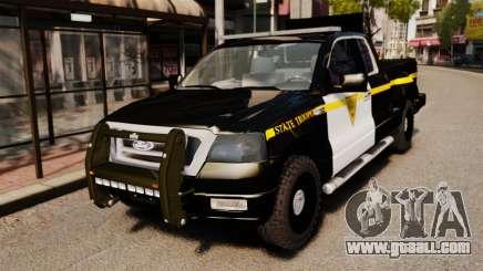 Ford F-150 v3.3 State Trooper [ELS & EPM] v3 for GTA 4