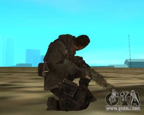 Sniper MacMillan for GTA San Andreas