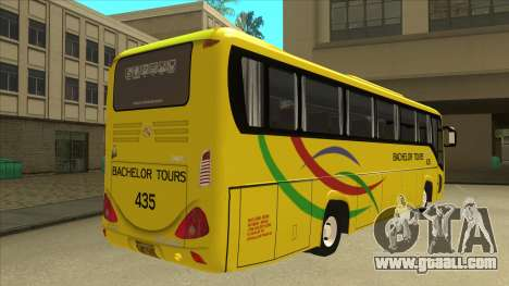 Kinglong XMQ6126Y - Bachelor Tours 435 for GTA San Andreas right view