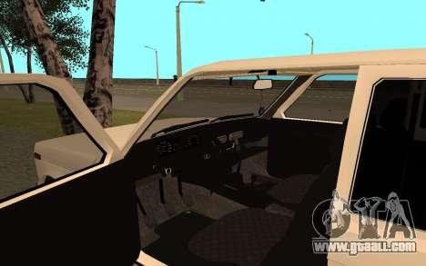 The Niva VAZ 21213 for GTA San Andreas back view