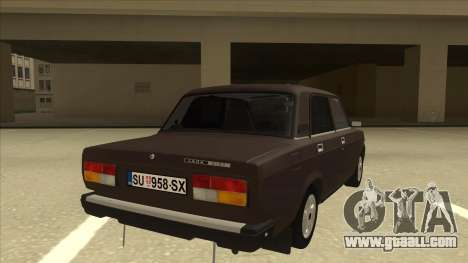 Lada Riva for GTA San Andreas right view