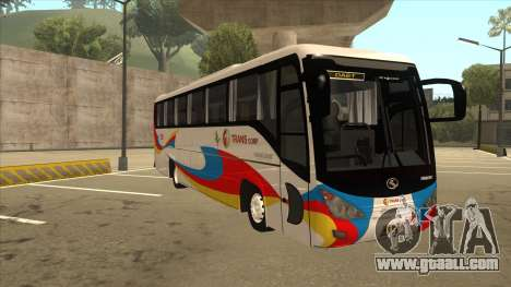 Kinglong XMQ6126Y - GL Trans 559 for GTA San Andreas left view